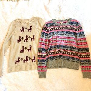 J. Crew Factory Sweater Bundle